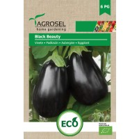 Semințe BIO vinete Black Beauty - 1.25 g